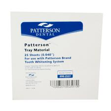 Patterson® Vacuum Forming Material for Custom Formed Trays- 5