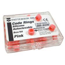 Patterson® Code Rings - Single Color, 50/:Pkg - Black