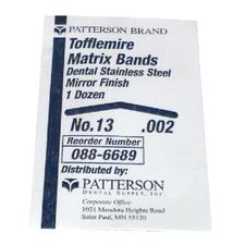Patterson® Tofflemire Matrix Bands