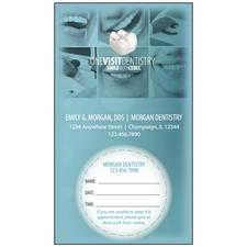 CEREC Standard Appointment Card, 3-1/2