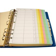 Appointment Control System Complete Log, 10-minute Intervals - 2 Columns