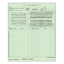 Easy-View Charting System, 100/Pkg - Dental Medical/Dental History