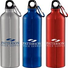 Aluminum Water Bottle, 28 oz, Personalized, 96/Pkg