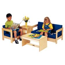 ThriftyKYDZ® 4-Piece Seating Set - Red