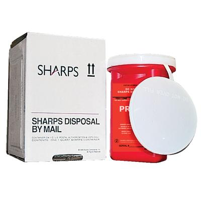 Mail-Away Sharps Containers - 1 Gallon