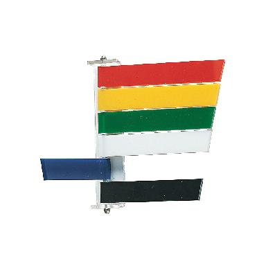 Room Signals, 4 Flags/Sign - Red, Yellow, Green, White