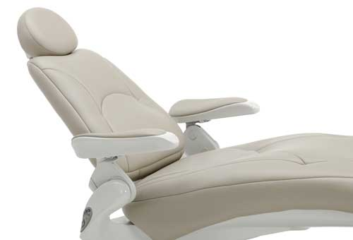 Spirit 3000 Dental Chair with Narrow Back Advantage