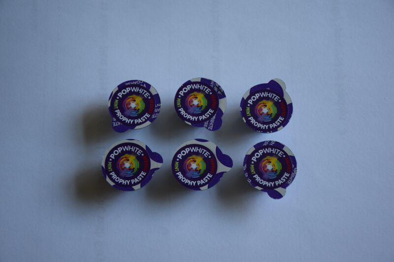 POPWHITE Power of Purple Prophy Paste