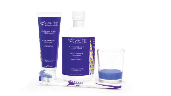 POPWHITE Whitening Primer and Toner