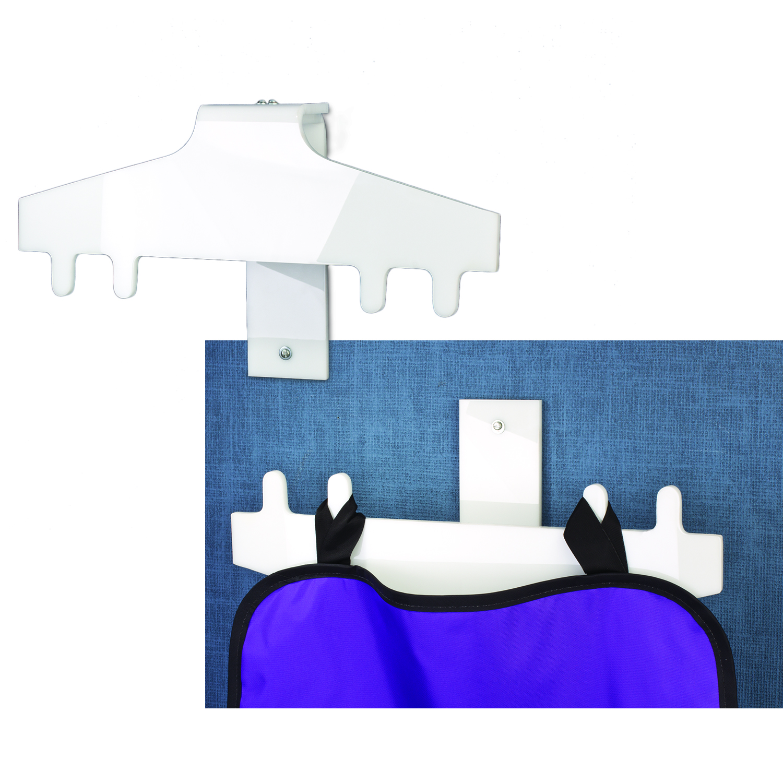 Reversible X-Ray Apron Hanger
