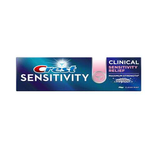 Crest Sensitivity Clinical Sensitivity Relief Extra Whitening Toothpaste