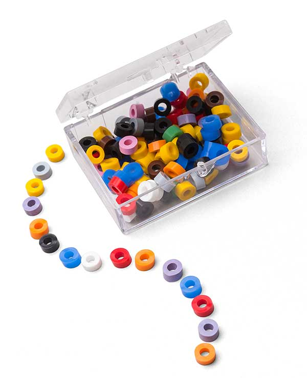CODE RINGS - SILICONE, MEDICAL GRADE