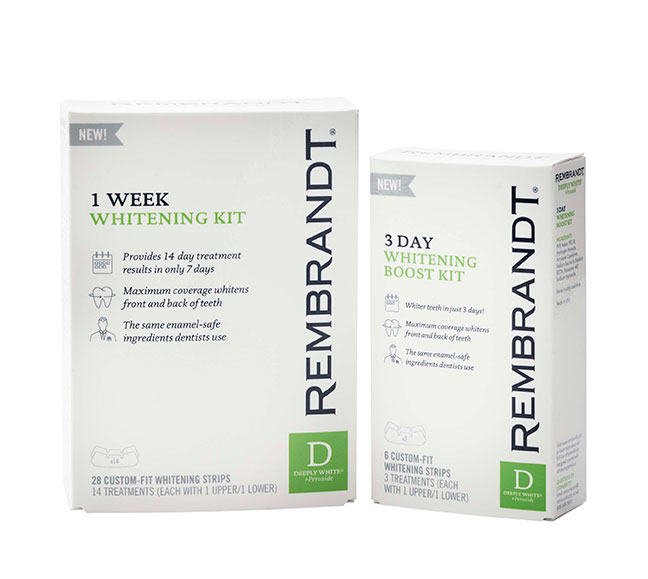 1 Week Whitening Kit and 3 Day Whitening Boost Kit
