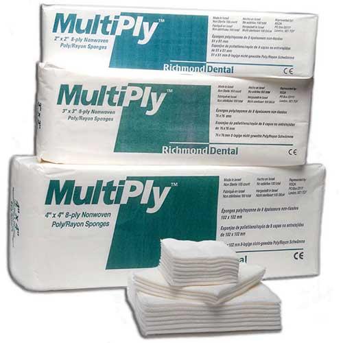 MultiPly™ Nonwoven sponges