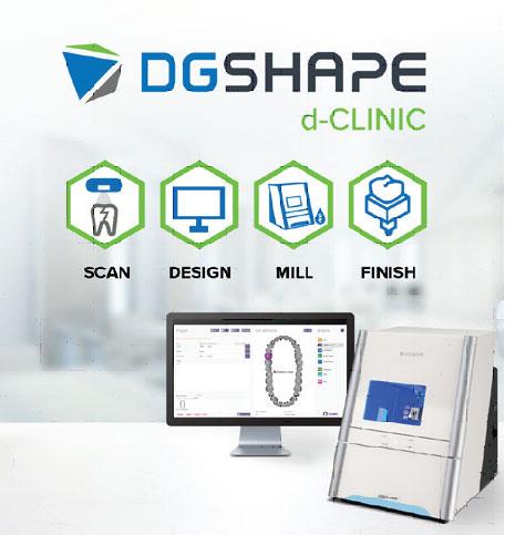 DGSHAPE d-CLINIC | Roland Dga Corporation