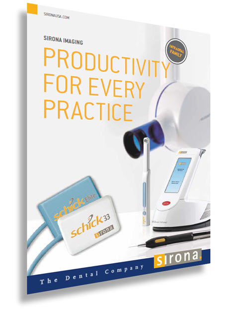 Sirona Imaging Productivity for Every Pracice