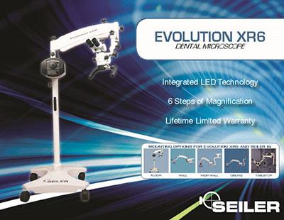 Dental SEILER EVOLUTION XR6 0-220 MICROSCOPE