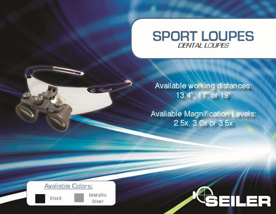 Dental Sport Loupes - 3.0X Magnification