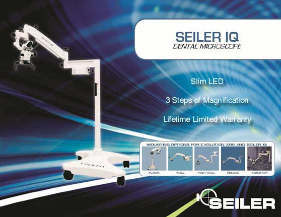 Dental SEILER IQ SLIM LED 0-220 MICROSCOPE