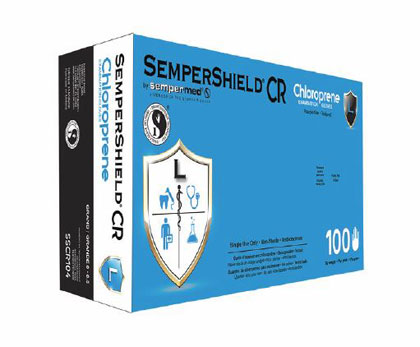 SemperShield CR Chloroprene Exam Glove