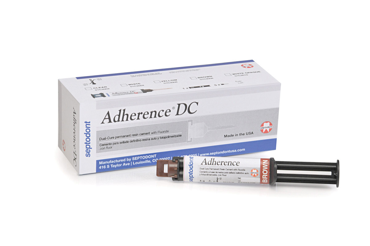 Adherence Dual Cure