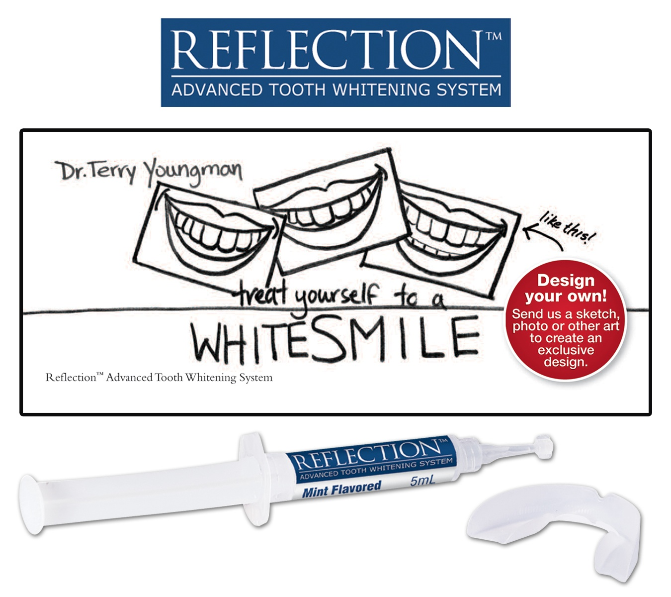 Custom Reflection Whitening Kits