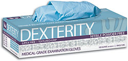 Dexterity Nitrile Powder Free Exam Gloves