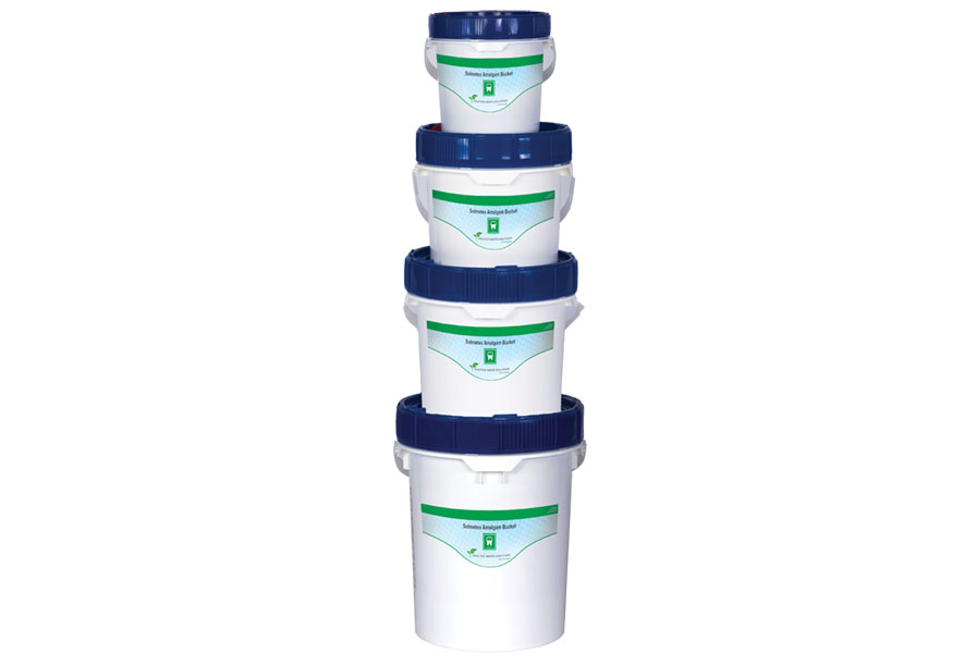 Solmetex Practice Waste Solutions Amalgam Bucket