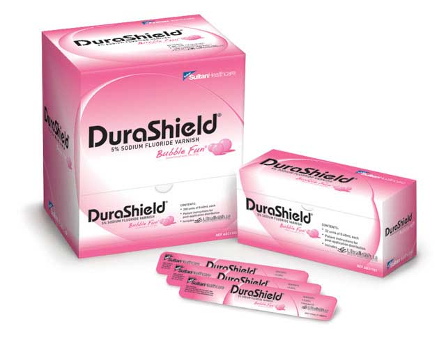 DuraShield®  CV 5% Sodium Fluroide Clear Varnish