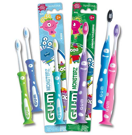 GUM Monsterz Toothbrushes