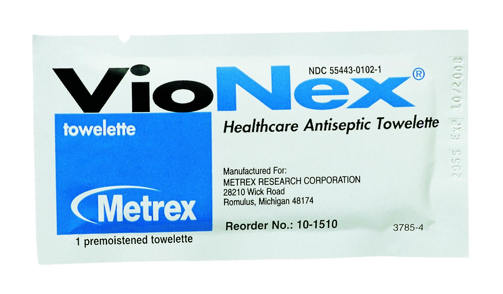 VioNex Antiseptic Skin Wipe Towelette