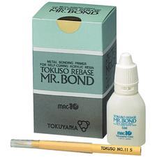 Tokuso® Rebase Mr. Bond Kit  Metal Primer for Self-Curing Acrylic Resin