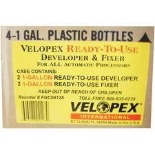 Ready-to-Use Solutions - Developer and Fixer - 3 (1/2 Gallon) Bottles