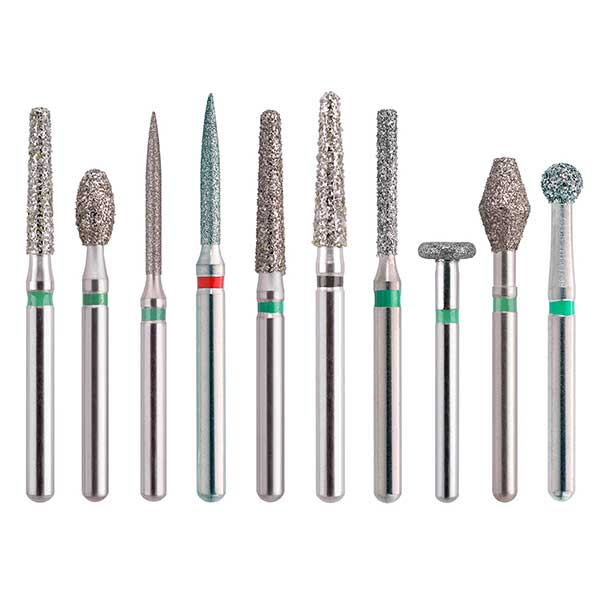 Zendo Select FG-Presterilized Diamond Burs