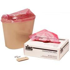 Handi-Hopper Waste Receptacle with Mounting Brackets  Beige